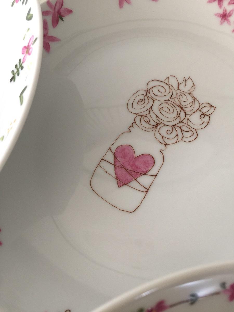 peinture porcelaine belley