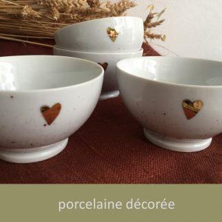 Porcelaine décorée